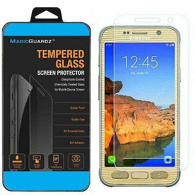 Premium Tempered Glass Screen Protector Guard for Samsung Galaxy S7 Active