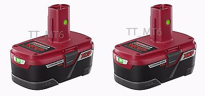 2 x Sealed Craftsman C3 19.2-Volt 4AH XCP High Capacity Lithium-Ion Battery Pack