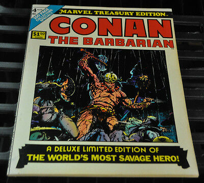 Marvel Treasury Edition #4 Conan The Barbarian Fine