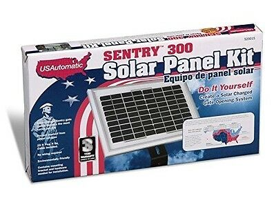 US Automatic 520015 Sentry 300 Automatic Gate Opener Solar Panel Kit