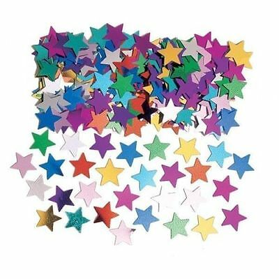 Multi Coloured Assorted Stars Confetti - Table Decoration Party Sprinkles - 14G