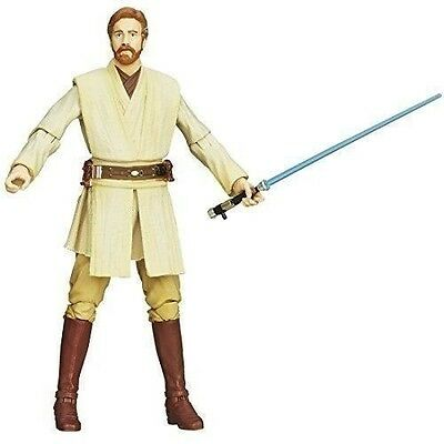New STAR WARS Episode 2 BLACK Series OBI-WAN KENOBI BANDAI from Japan Action Fig