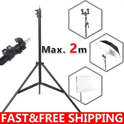 2m 6.56ft Universal Aluminum Tripod Stand for Camera Softbox reflector N0R2