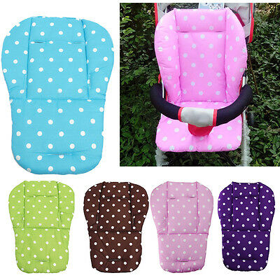 Baby Kids Stroller Pushchair Car Seat Padding Mat Pram Liner Pad Cushion Soft