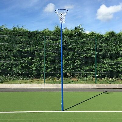 Socketed Netball Posts – With Ground Socket & Net – Add Netball & Padding!