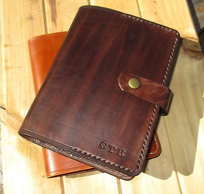 Leather Journal Personalized Custom Handmade Diary,book Cover A6