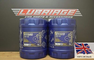 ISO 46 Hydraulic Fluid Oil 20 Litre Drum - German Hi Spec -Next Day Delivery 20L