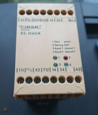 Tipsp Rs-Nagk Ar .9662.2000 Safety Relay