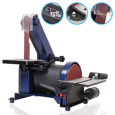 230V Electric 300W Carpenter Belt Disc Sanding Wood Metal Bench Sander Linisher