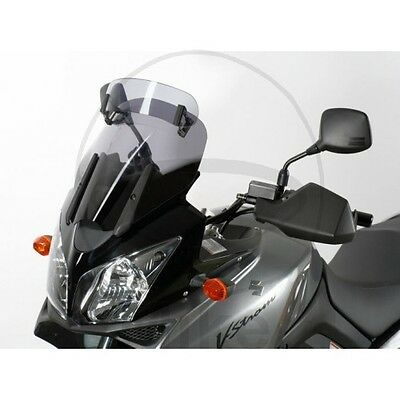 Suzuki DL 1000 V-Strom 2008 MRA Vario Adjustable Touring Screen Smoke Grey