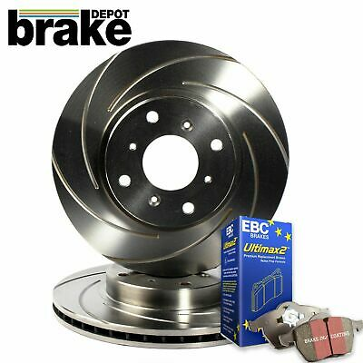 Honda Civic Type R EP3 Front Rear Evora Brake Discs EBC Pads EP3 Grooved