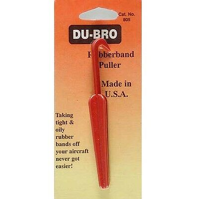 DuBro 805 Rubber Band Puller for Airplanes / Wing Hardware