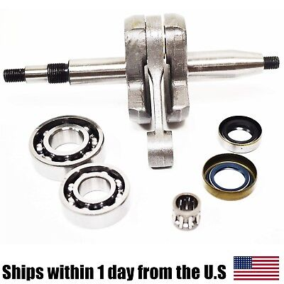 Crankshaft Bearing Seals & Pin for Stihl TS400 Concrete Saws