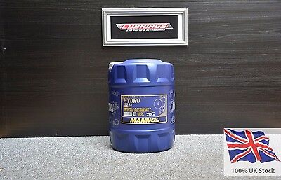 ISO 32 Hydraulic Fluid Oil 20 Litre Drum - German Hi Spec - Next Day Delivery