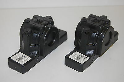 (2) New SKF SNL 506-605 Split Plummer Block Housings
