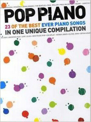 Pop Piano: 23 Of The Best Ever Piano Songs, New, Sam Harrop Book