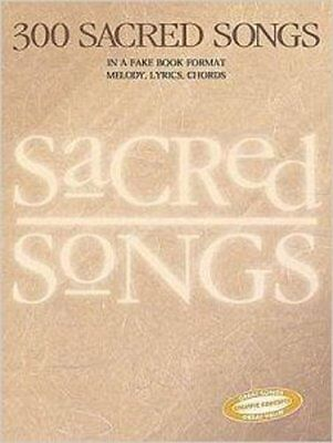 300 Sacred Songs, New, Creative Concepts Publishing Book