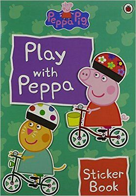 Play With Peppa Sticker Book, New,  Book