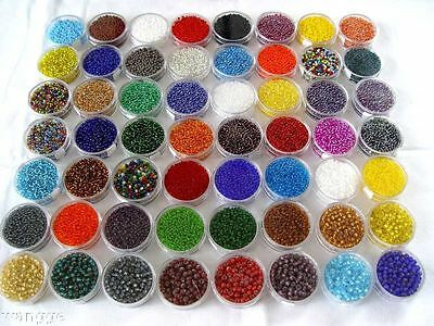 2000pcs 2mm Czech Glass Seed Round Spacer beads Jewelry Making