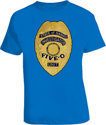 Hawaii Five O badge T Shirt