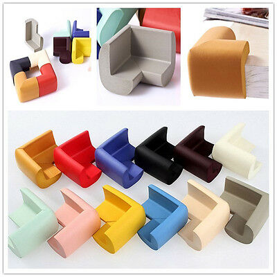 Table Corner Edge Protector 4x Guard Toddler Child Safety Soft Rubber Square