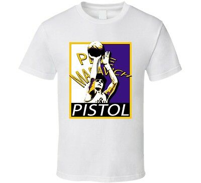 Pistol Pete Maravich Basketball great legend sports hope t shirt