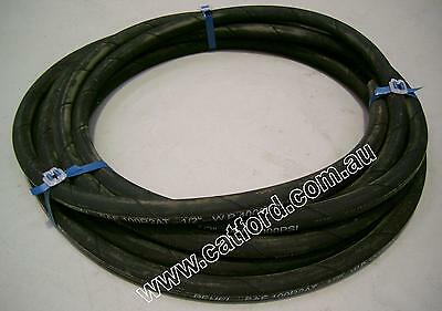"Hydraulic Hose 1/2"" Two Wire Braid 10 Metres Long"