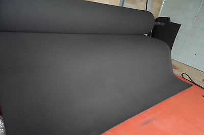 Neoprene  Foam Closed Cell Sheet - 1250Mm X 3Mm By The Meter - Free Post