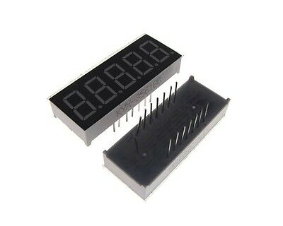 "0.36"" 5 Digit 7-Segment LED Display DIP Common Anode - Red"