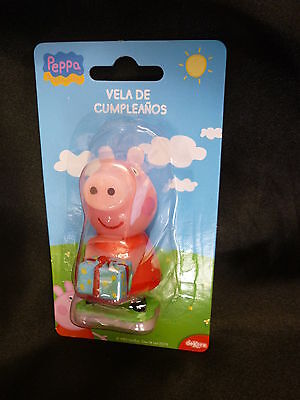PEPPA PIG Birthday Cake Candle Topper Figure Character