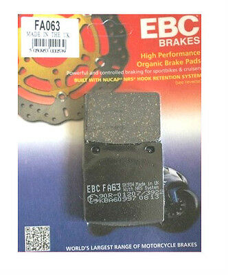 EBC FA063 Rear Brake Pads for Suzuki GSF GSF600 Bandit   1995 to 2004
