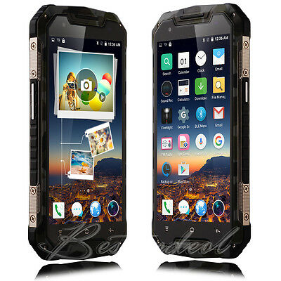 """5.0"""" Unlocked Mobile Phone Quad Core Dual SIM Android 5.1 Smartphone  Shockproof"""