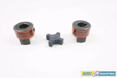 Lot 2 Lovejoy L-070 0.625 In Jaw Coupling Assembly D535609