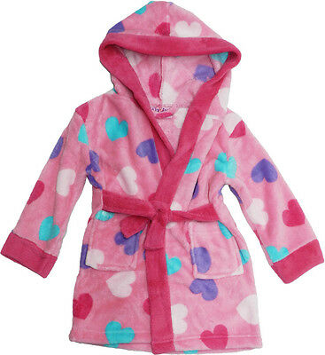 Baby Toddler Girls Super Soft Robe Dressing Gown by Lily & Jack