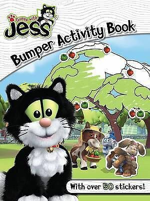 Guess with Jess Bumper Activity Book Paperback New