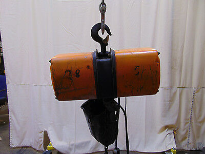 Jet Electric Chain Hoist 1/2 Ton 115v / 230v 1 Phase