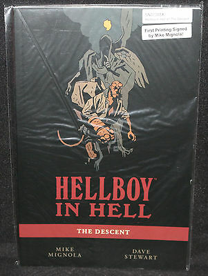 Hellboy in Hell #1 - The Descent TPB 1st Print (NM) 2014 Signed by Mike Mignola