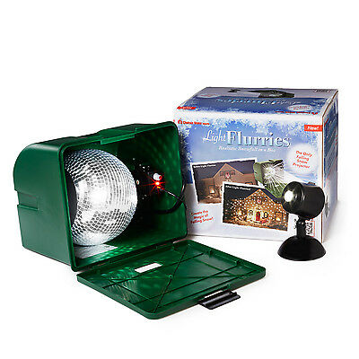 Light Flurries Weatherproof Holiday LED Projector,The Original Snowfall Shower