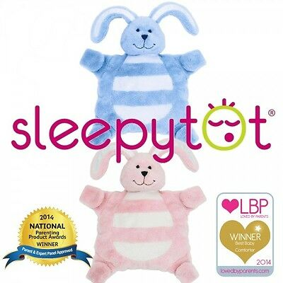 Sleepytot Baby Toddler Bunny Comforter/soother Holder/soft Toy/comfort Blanket
