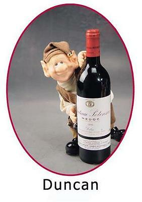 The Elves Themselves Duncan Wine Cellar Elf Resin Doll Zim's Whitehurst Company
