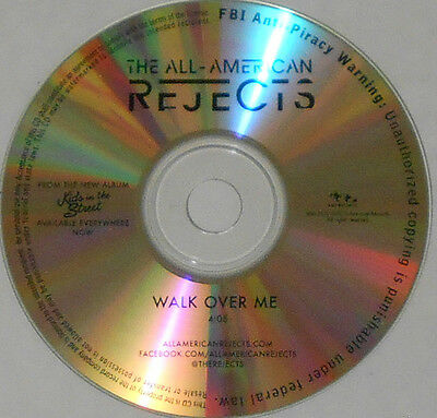 All American Rejects - Walk Over Me (4:05) - 2012 Promo CD Single