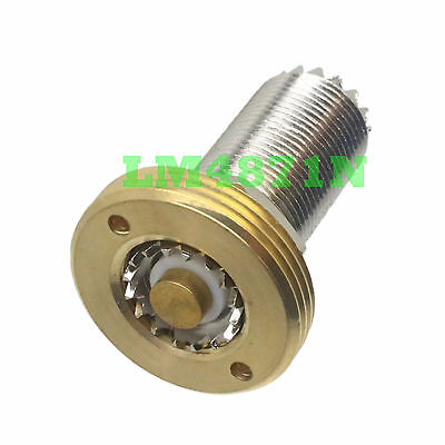 NMO Mount to SO239 Female nut adapter for UHF/VHF Antenna Commercial Ham Radio