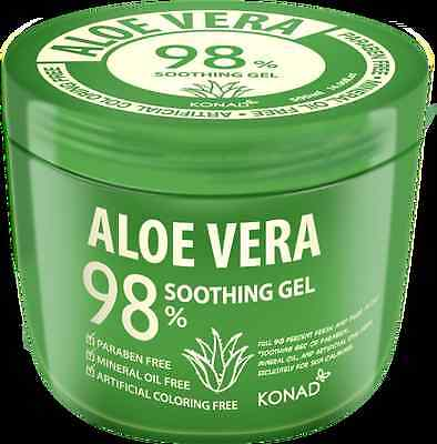 98%Aloe Vera Gel-Free from Paraben,Mineral Oil ,Artificial colouring-500g +FREE