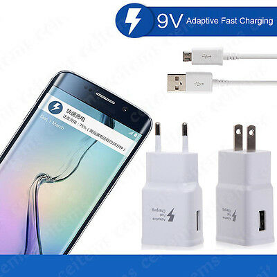 Original Fast Charging USB Cable Adaptive for Samsung Galaxy Note 7 S7 S6 S5 Lot
