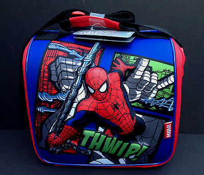 DISNEY Store LUNCH Tote SPIDERMAN School Box 2016 NWT