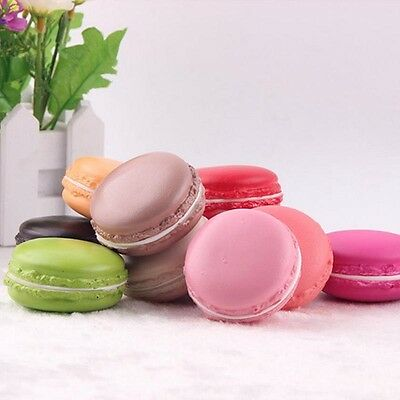 1PC 5CM Artificial Macaron Macaroon Dessert Fake Cake Cupcake Bread Model Beauty