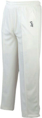 Kookaburra Predator Cricket Whites Match Playing Trousers Sizes Youth - XXL UK