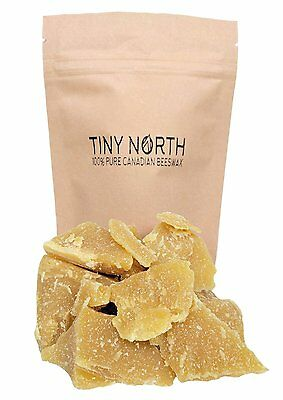 100% Pure Canadian Beeswax Cosmetic Yellow by Tiny North Beeswax-Yellow CXX