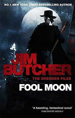 Fool Moon: The Dresden Files Book Two,New Condition