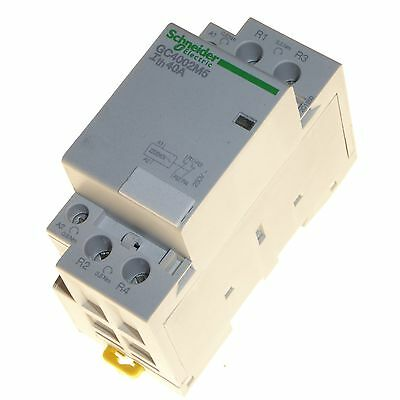 40 amp double pole contactor  220 / 240V N/C coil Schneider GC4002M5 new